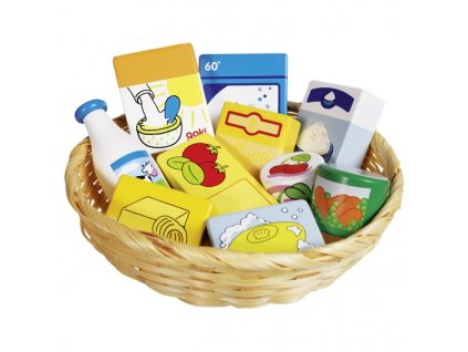 Dětský krámek – miniatury potraviny a potřeby do domácnosti, 10 ks