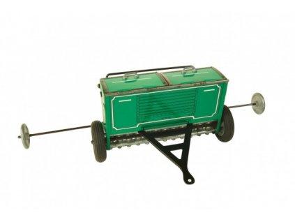 Kovový secí stroj