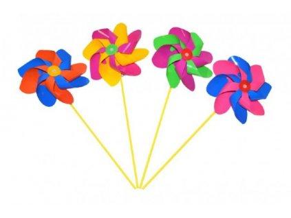 Větrník průměr 20cm barevný 3 barvy