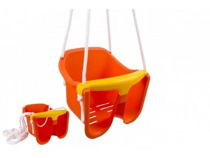 Houpačka Baby oranžová