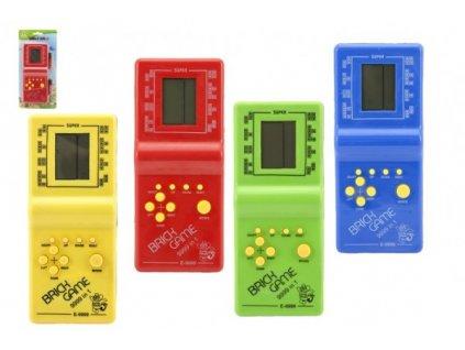 Digitální hra Brick Game Tetris hlavolam 4 barvy