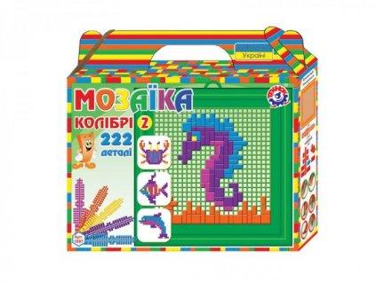Mozaika sada mořský svět barevná 222ks
