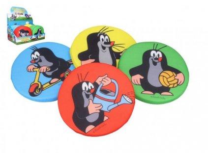 Házecí disk Krtek pěnový 4 barvy