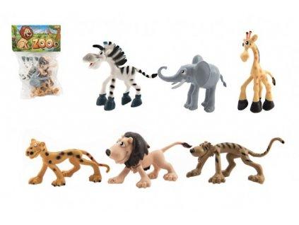 Zvířátka veselá safari ZOO 6ks