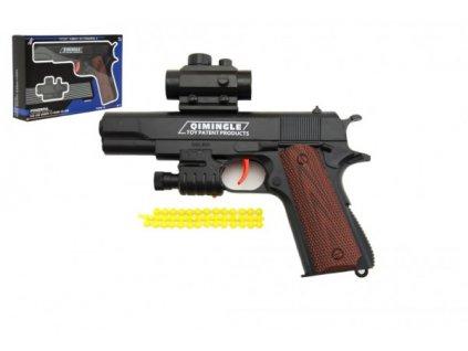 Pistole na měkké kuličky 20cm