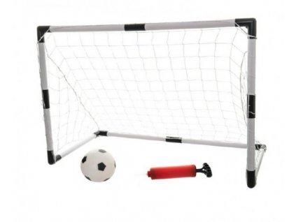 Branka fotbalová 2ks + míč
