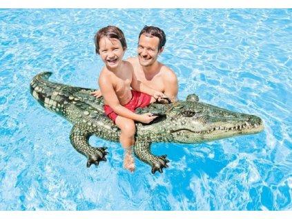 Nafukovací Krokodýl s úchyty
