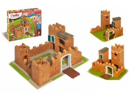 Stavebnice Teifoc Rytířský hrad II 435ks