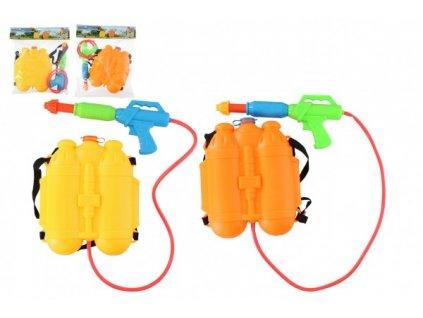 Vodní pistole s batohem/zásobníkem na záda 2 barvy