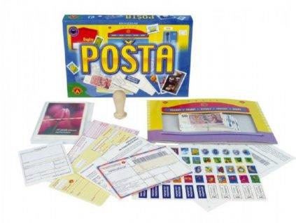 Pošta vzdělávací a společenská hra