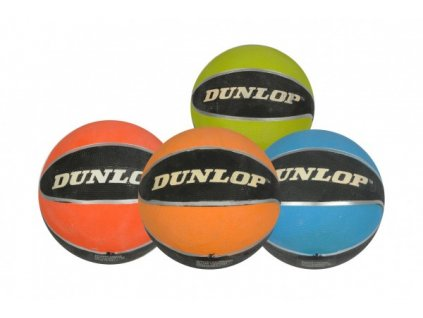 Basketbalový míč Dunlop 4 barvy
