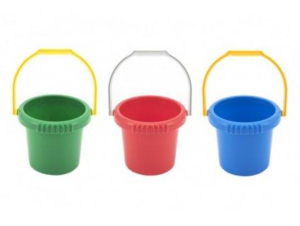 Kbelík plastový do pískoviště 4 barvy