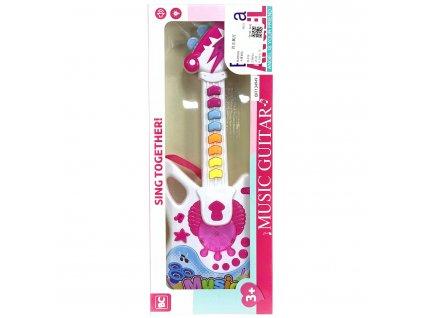 Elektrická kytara na baterie pro holky