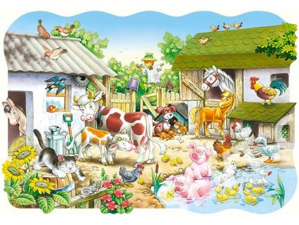 Puzzle Farma 20 dílků MAXI
