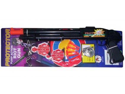 Dětská pistole na plastové přísavky