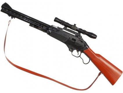 Dětská puška Winchester krátká s páskem
