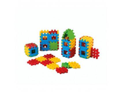 Konstrukční kostky 24 dílků 1