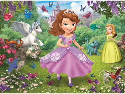 Puzzle Princezna Sofie 30 dílků