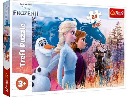 Puzzle Ledové království 2 Magická cesta MAXI 24 dílků