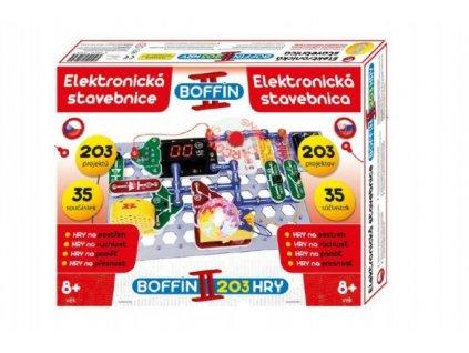 Stavebnice Boffin II. 203 elektronická 203 projektů na baterie 35ks