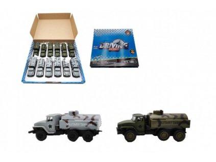 Auto vojenské na zpětné natažení 2 barvy