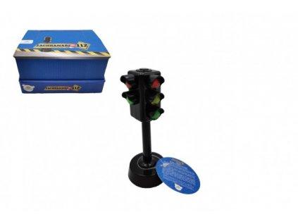 Semafor funkční na baterie se světlem se zvukem