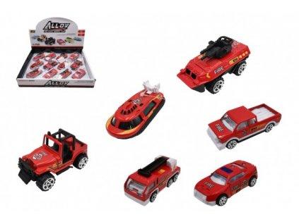 Auto hasiči na volný chod mix druhů