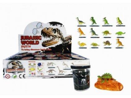 Sliz - hmota 80g Dinosaurus mix druhů