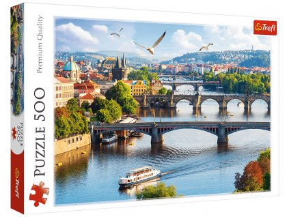 Puzzle Praha 500 dílků