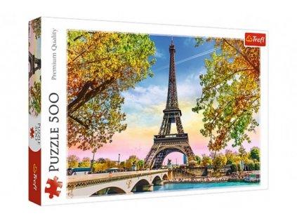Puzzle Romantická Paříž 500 dílků