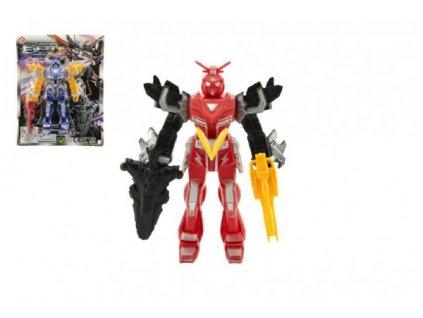 Robot figurka 4 barvy
