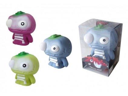 Zombeezz figurka 12cm střílející okem guma + 5ks míčků  2 barvy