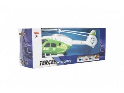 Vrtulník/Helikoptéra na natažení 3 barvy