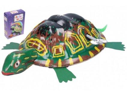 Želva natahovací kovová