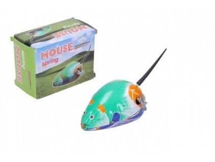 Myš natahovací kovová