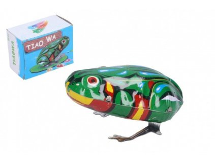 Žába natahovací kovová