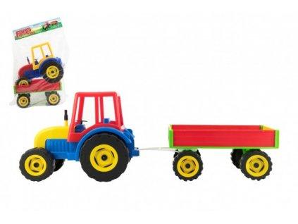 Traktor Farmer XXL s vlekem