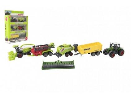 Sada farma zemědělské stroje s příslušenstvím mix druhů