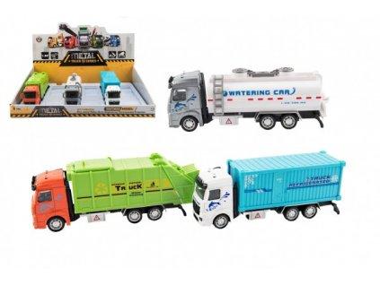 Kamion na zpětné natažení 3 druhy