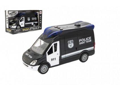 Auto policie swat na setrvačník na baterie se zvukem se světlem
