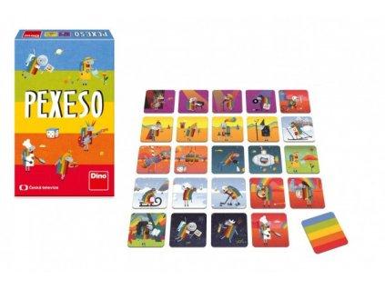 Pexeso ČT Déčko 48 kartiček společenská hra