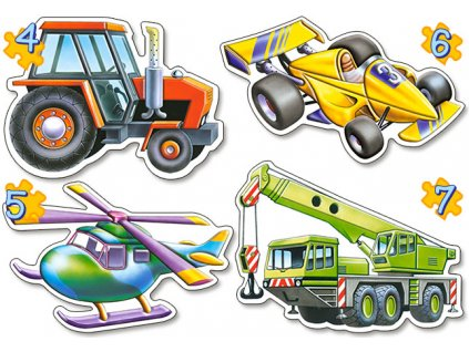 4 mini puzzles fahrzeuge.41168 1.fs