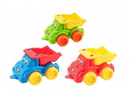 Auto stavební sklápěčka 3 barvy