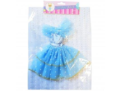 Šaty pro panenku Julia mix druhů