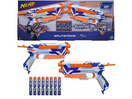 Hasbro C3135 Nerf N-Strike Elite Splitstrike a 8ks šipek