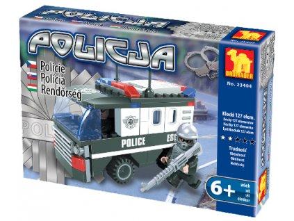 Stavebnice policejní auto Velké