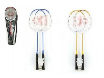 Badminton sada + 3 košíčky Donnay 3 barvy