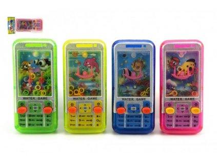 Vodní hra hlavolam mobil 4 barvy