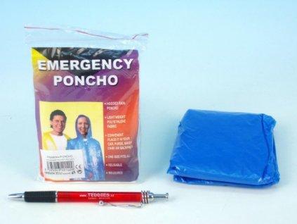 Pláštěnka Poncho polyethylen universální velikost