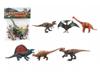 Dinosaurus  14-19cm 6ks